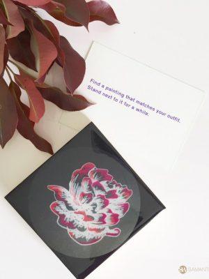 samantha clark waters hey stella art block print bush rose
