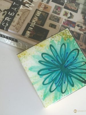 samantha clark waters hey stella art block print daisy