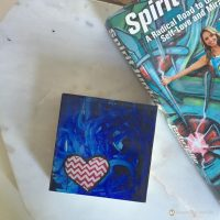 samantha clark waters hey stella art block print heart