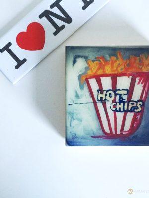 samantha clark waters hey stella art block print hot chips