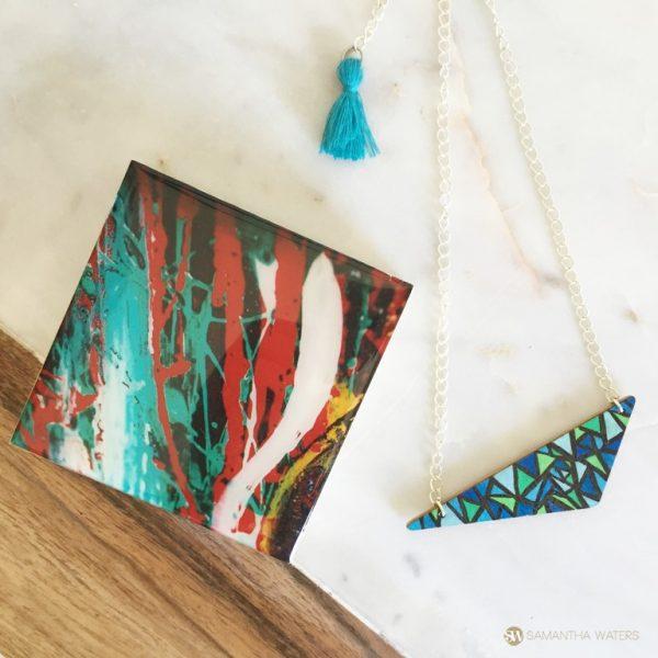 samantha clark waters hey stella art block print lava