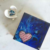 samantha clark waters hey stella art block print love