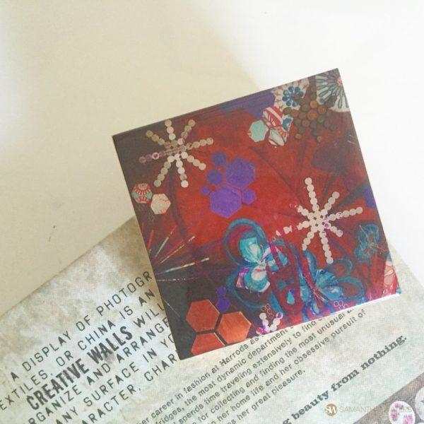 samantha clark waters hey stella art block print metal petal