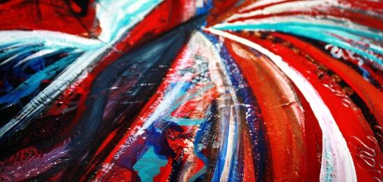 samantha clark expressive artist red