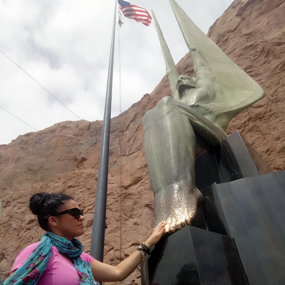 desert diaries hoover dam monument usa road trip travel blog
