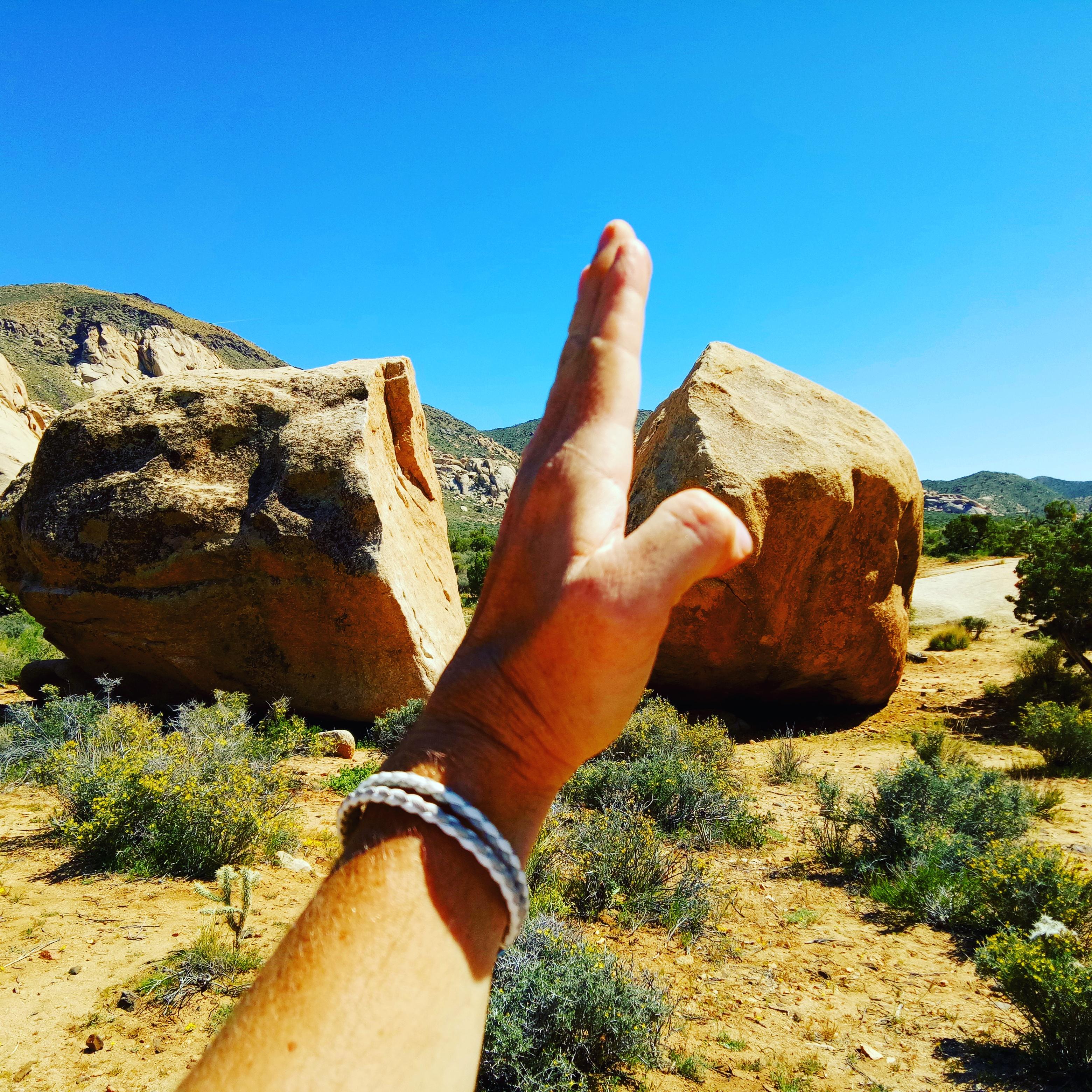 joshua tree national park travel desert diaries split rock vlog blog