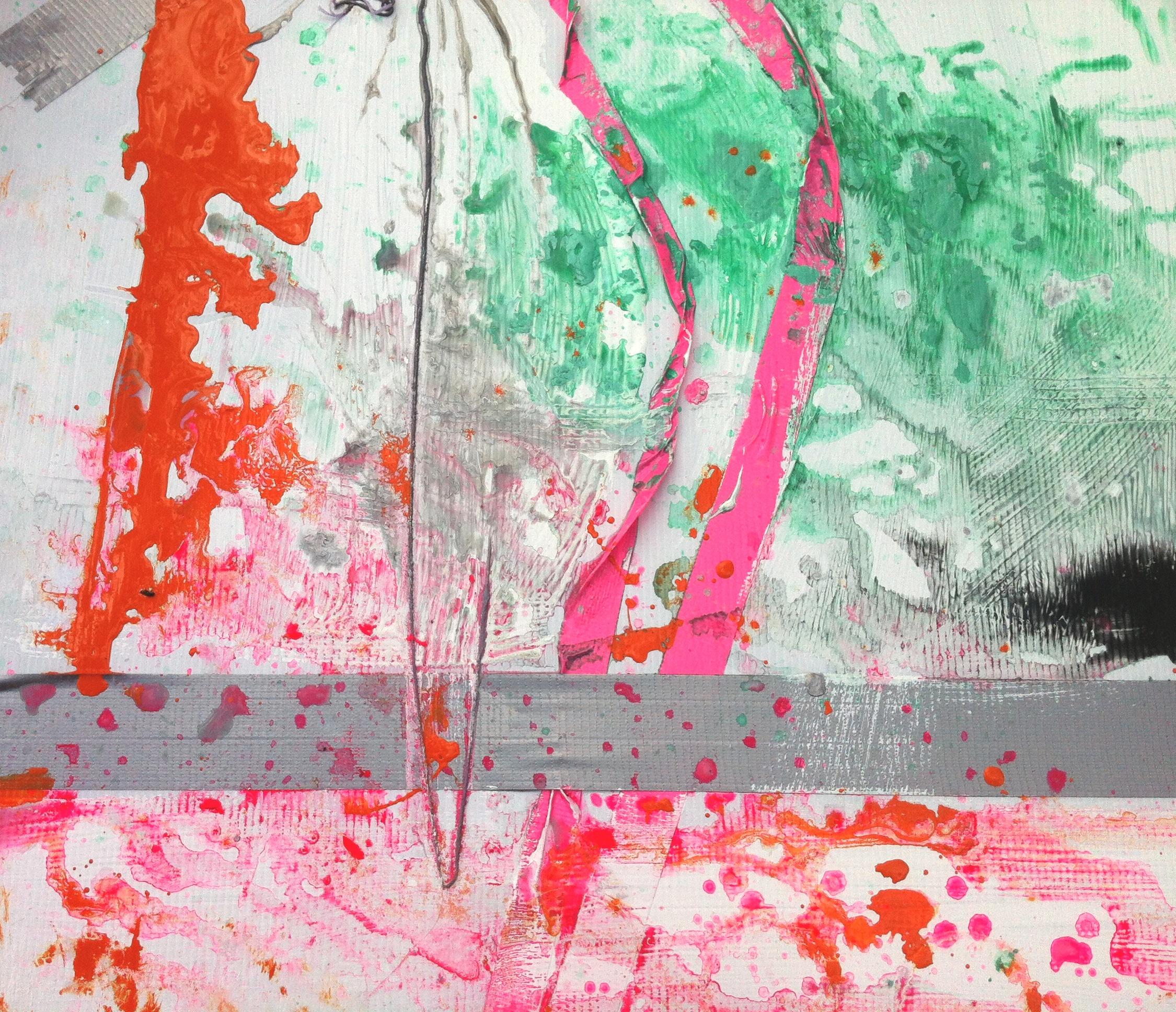 samantha clark art poetry fluoro pink 4