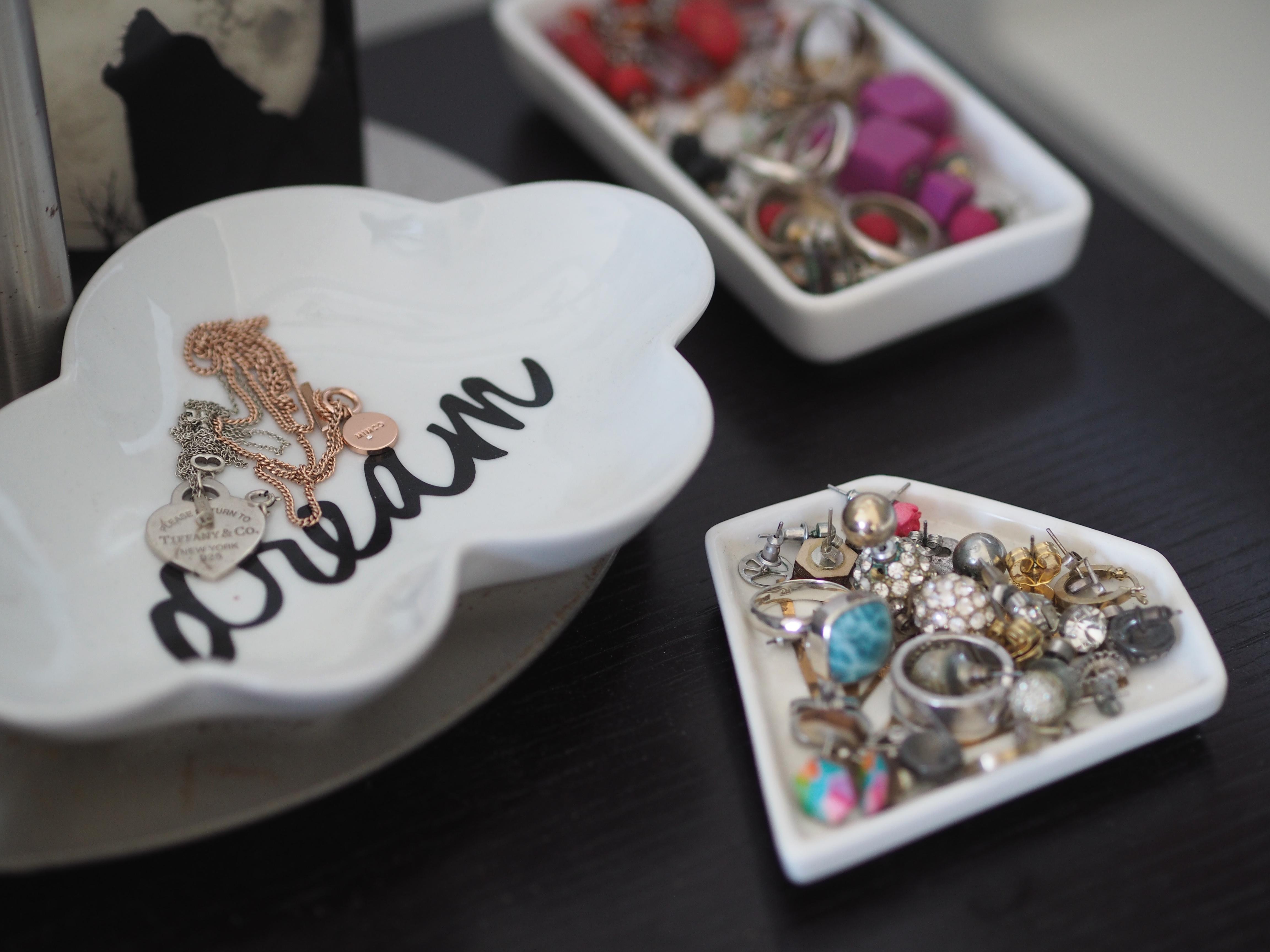 trinket dish jewellery storage