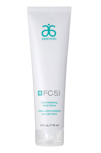 winter pamper products hand cream arbonne