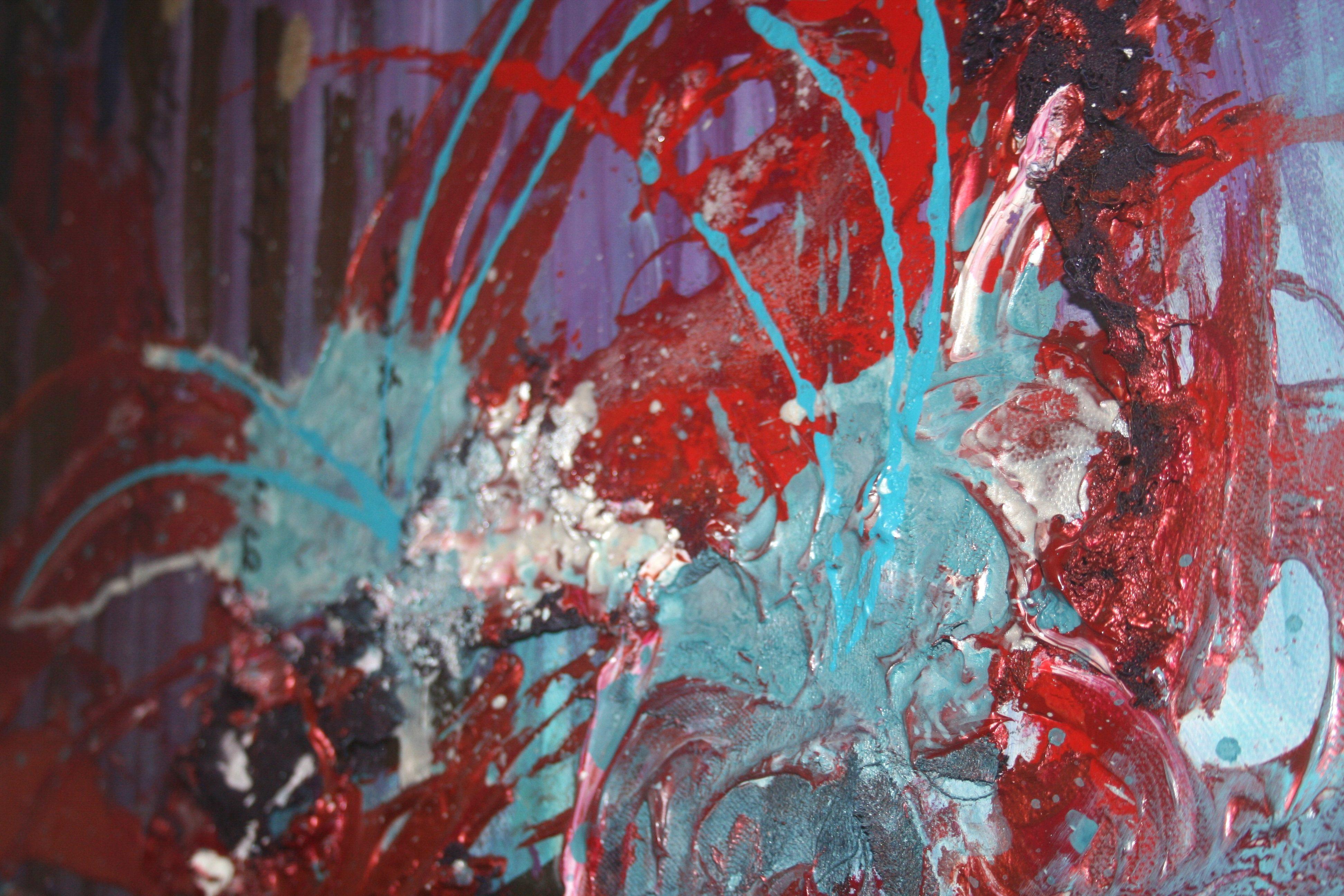 samantha clark wet hair paint poetry