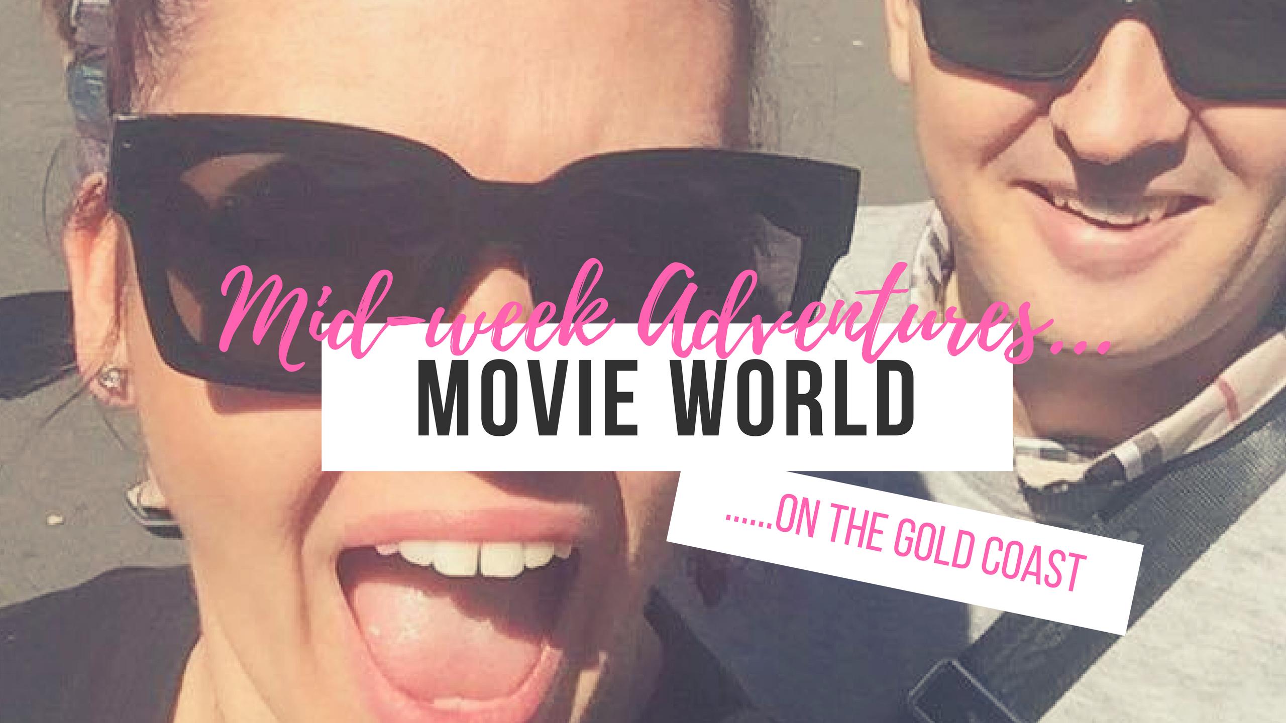 travel vlog movie world gold coast