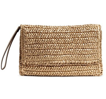 budget straw summer bag clutch