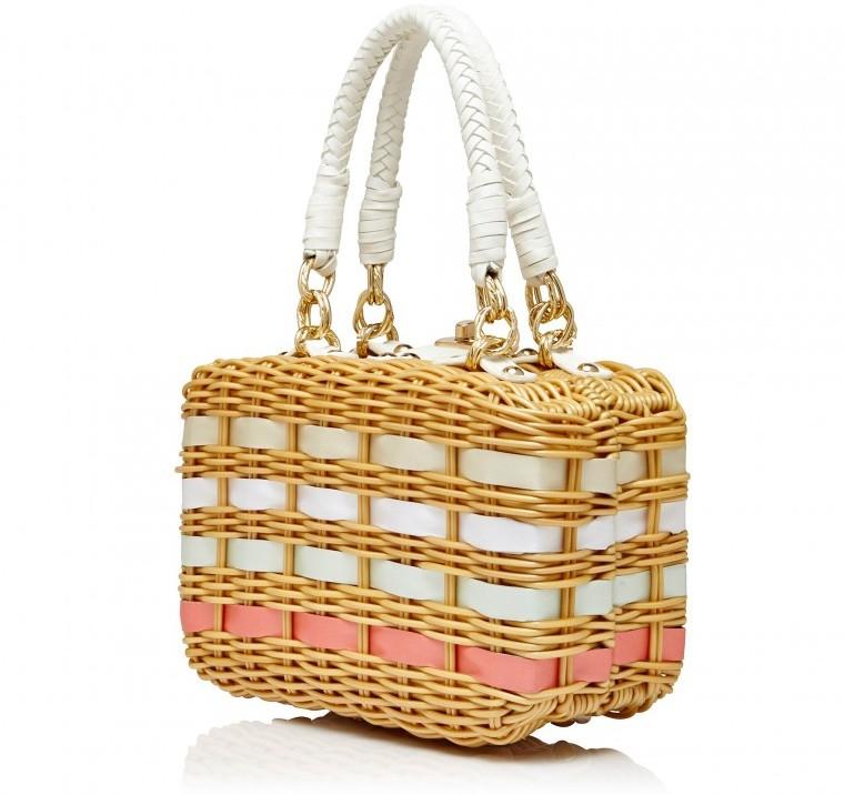 cute summer straw woven bags