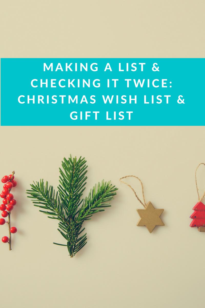 christmas wishlist gift list samantha clark blog