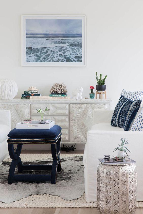 luxe beach house aesthetic style blog