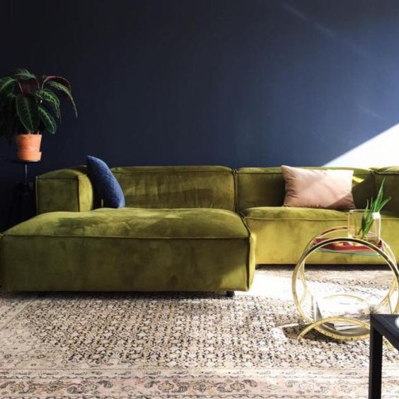 velvet sofa love style favourites 2017