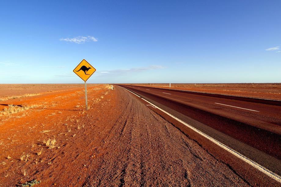 Kangaroo Sign aussies travel down under