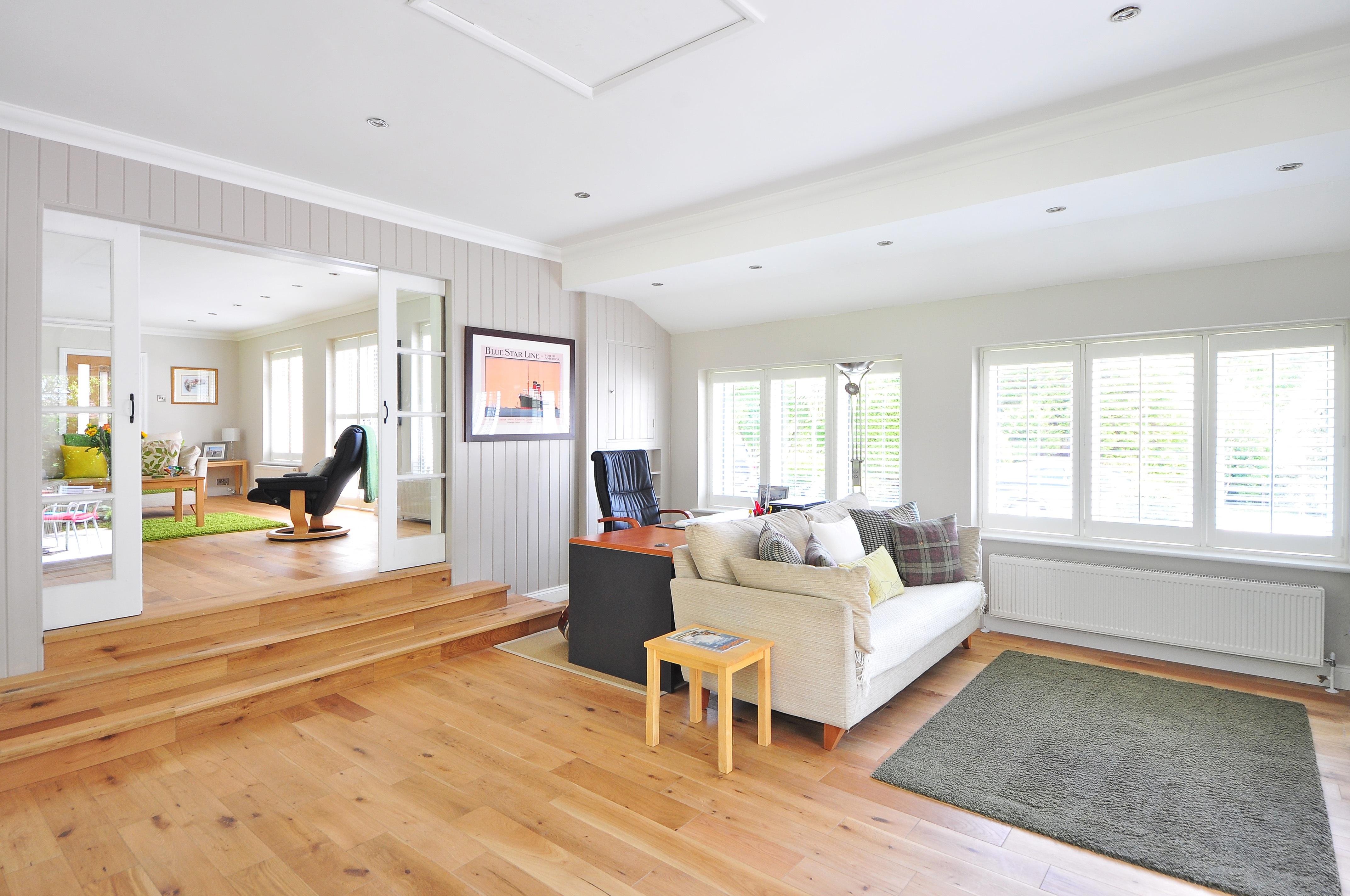 blonde summer flooring interior design