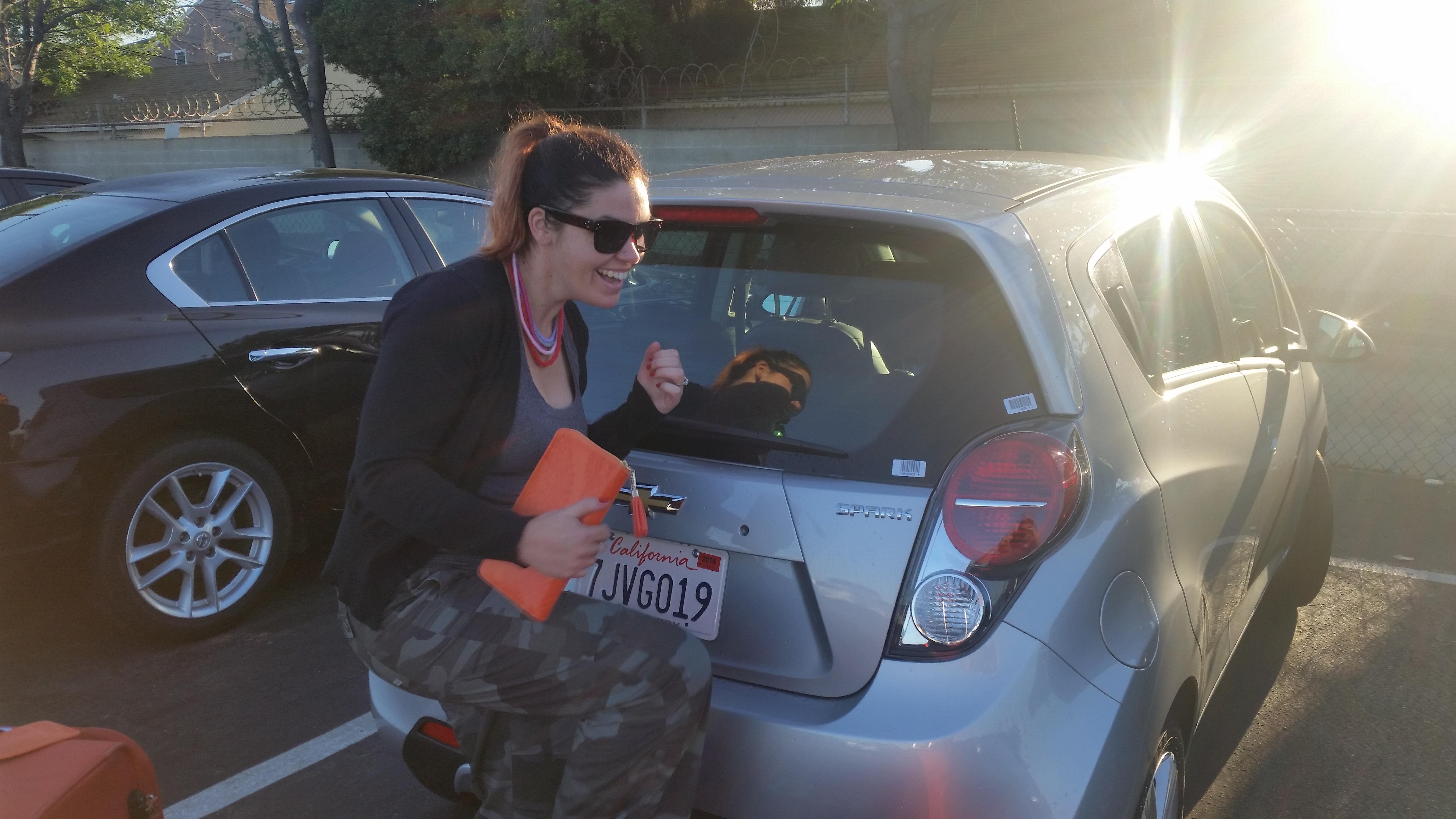 hiring car overseas abroad la usa travel