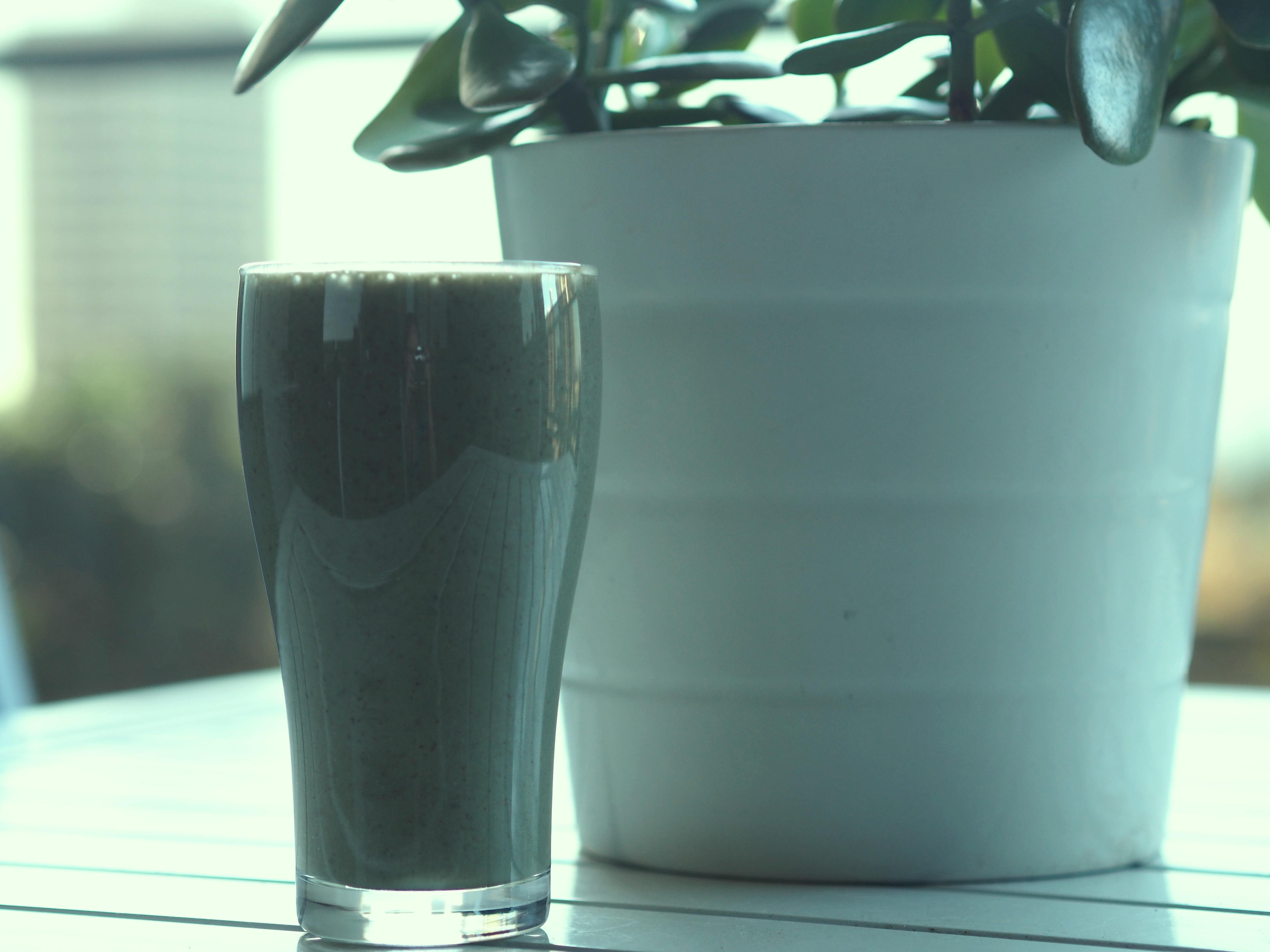 morning routine vegan protein breakfast smoothie