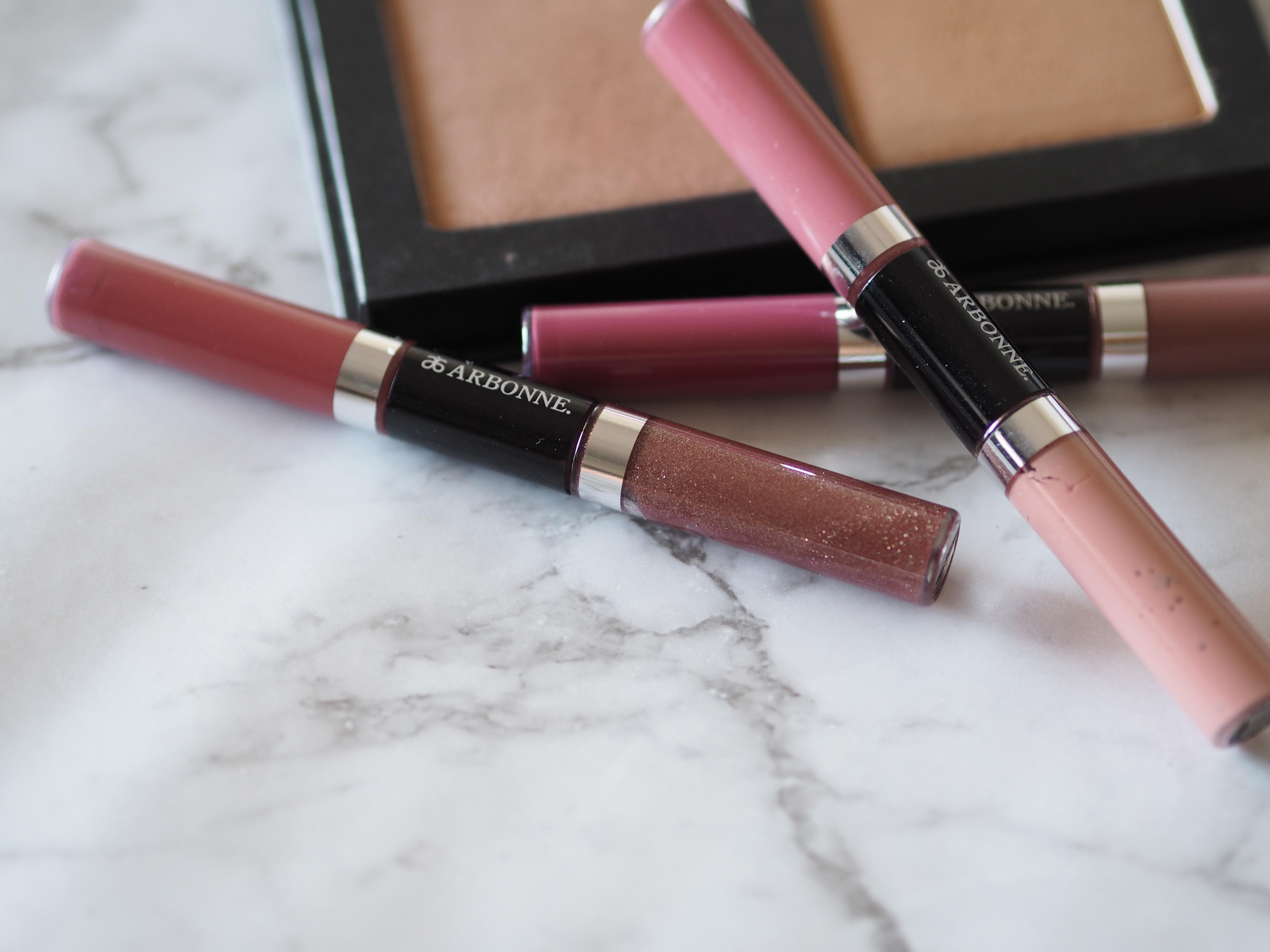 sorting organised beauty room makeup vanity
