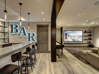 basement conversion transform unused space home interiors