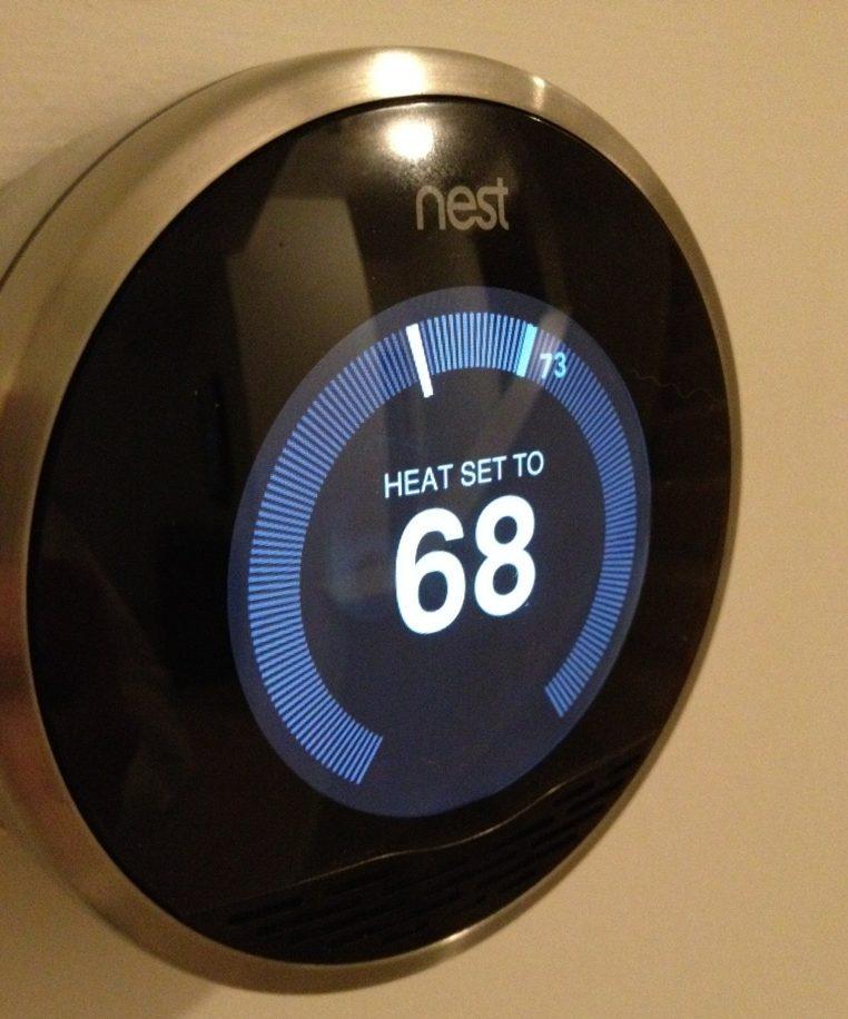nest diamond thermostat home smart automation interiors blog