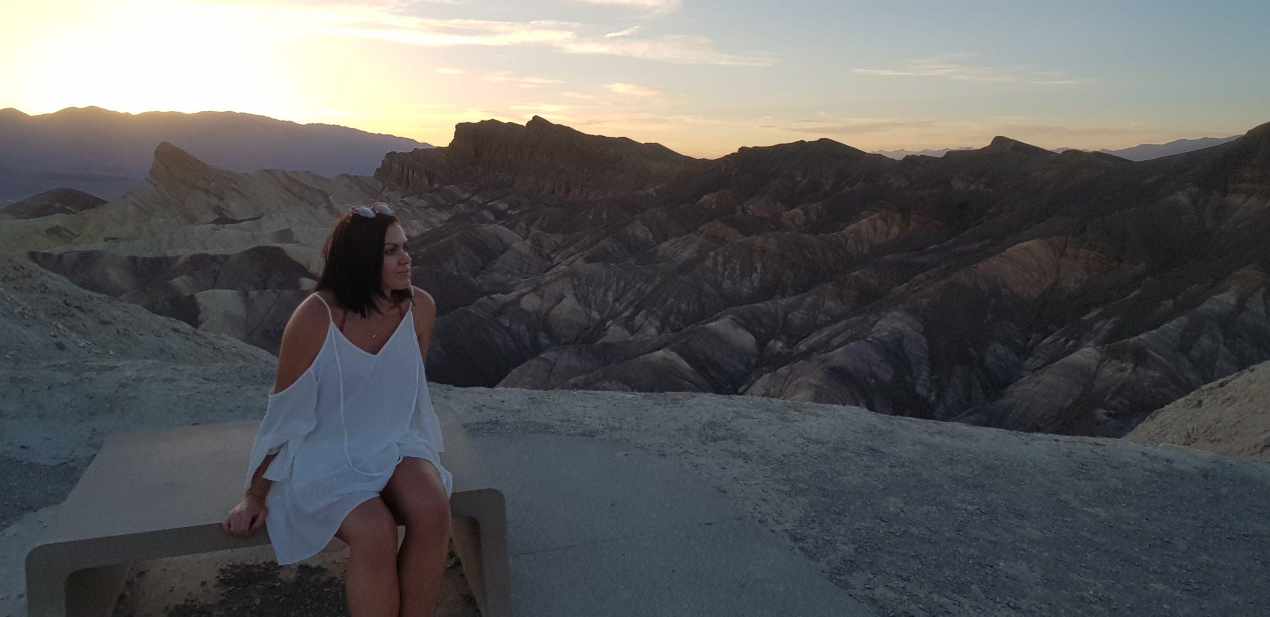 affirmations healthy living lifestyle blogger death valley mindset