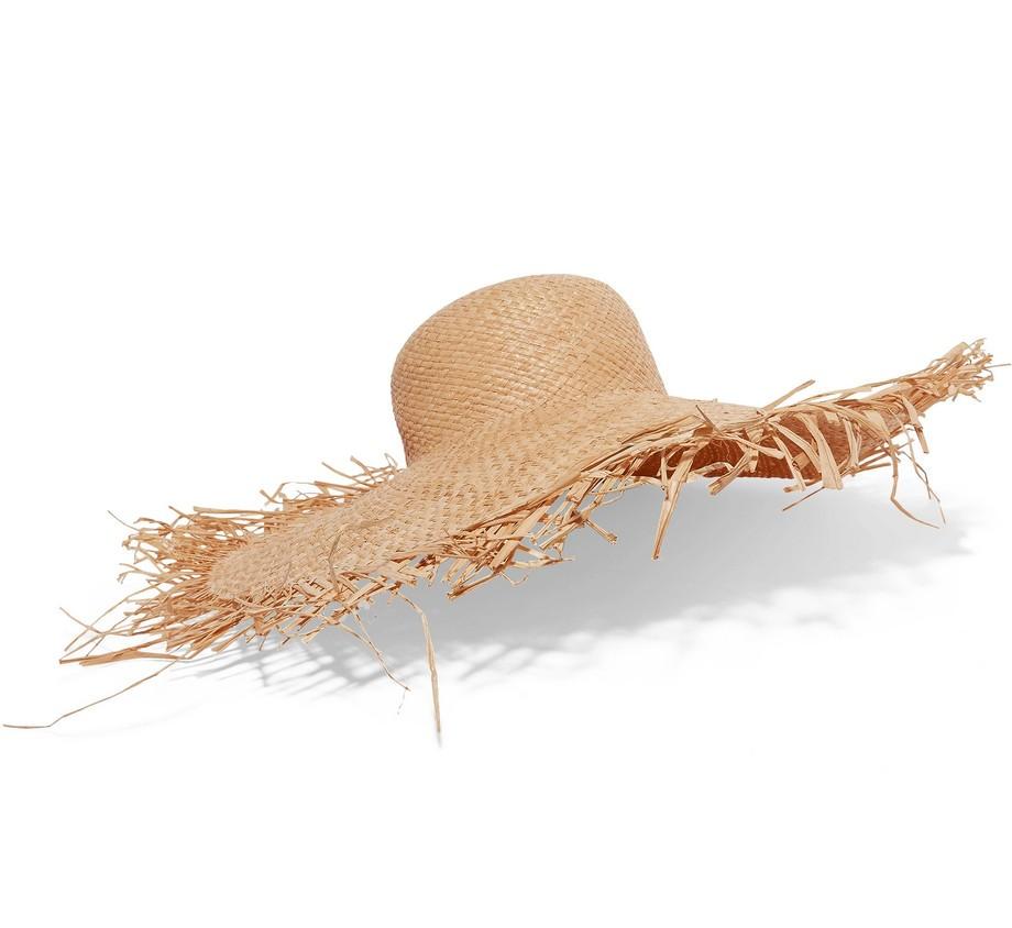 summer vacay holiday wardrobe essentials straw hat raw edge