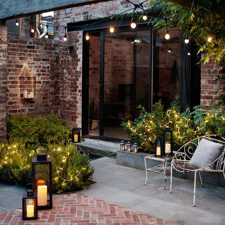 courtyard garden social hang out space design home blog