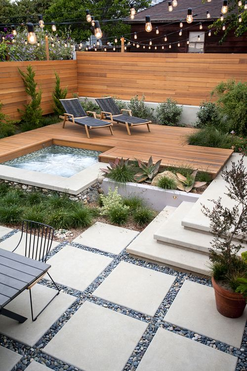 garden enjoy weather cool plunge pool home style blog