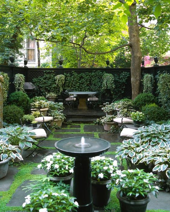 garden therapy enjoy weather shade greenery home style blog