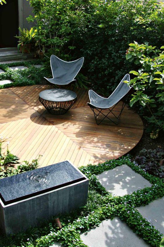 make your garden perfect social hang out space deign blog home