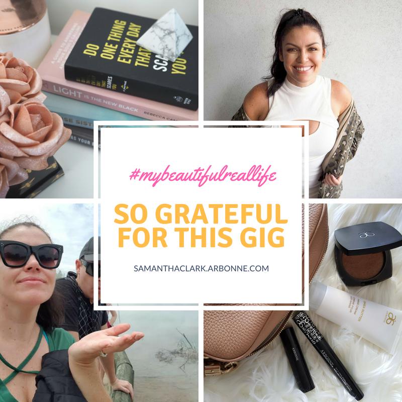 samantha clark arbonne australia rep vp lifestyle blogger
