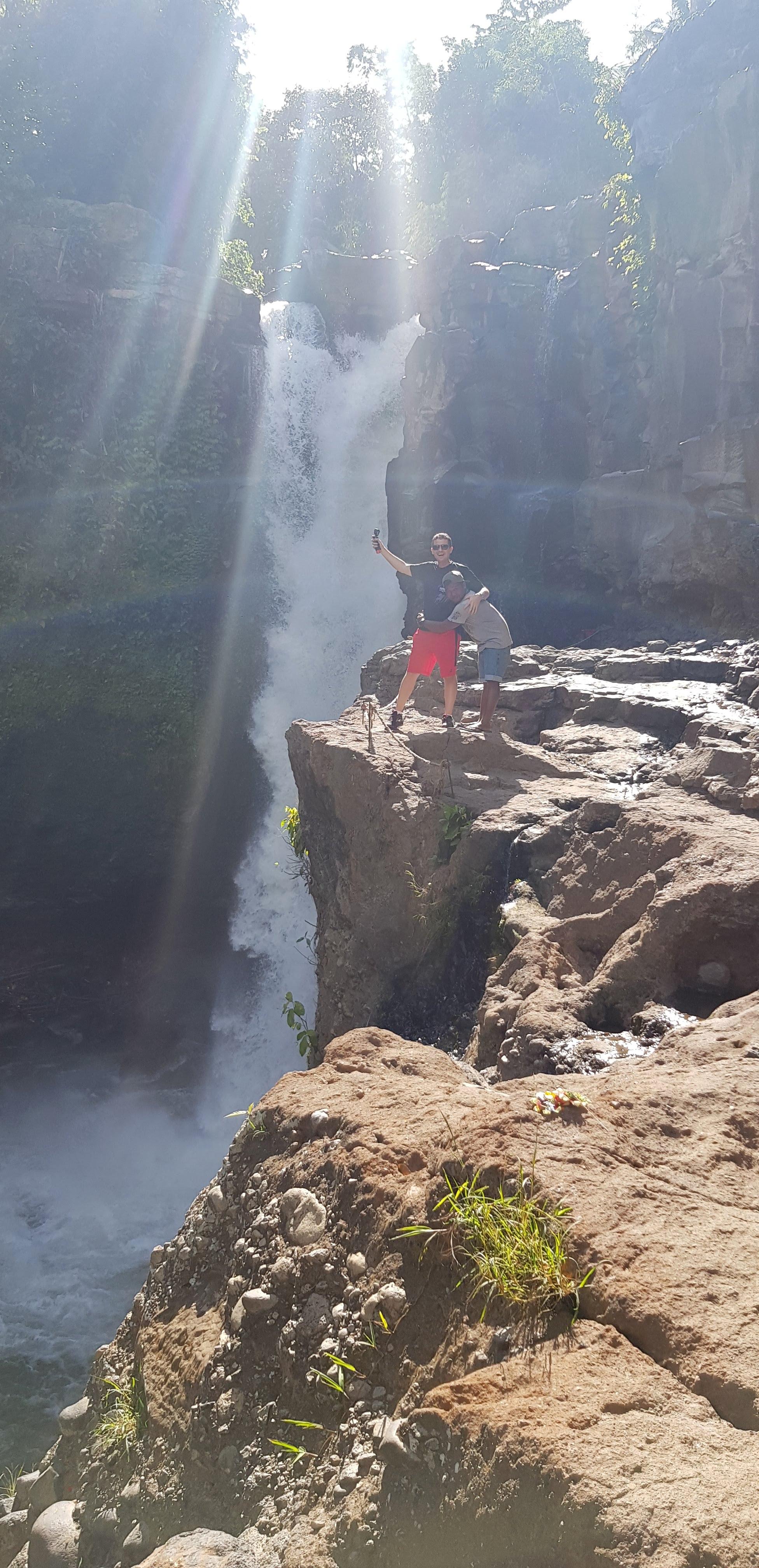 travel light up life business blog bali waterfall culture