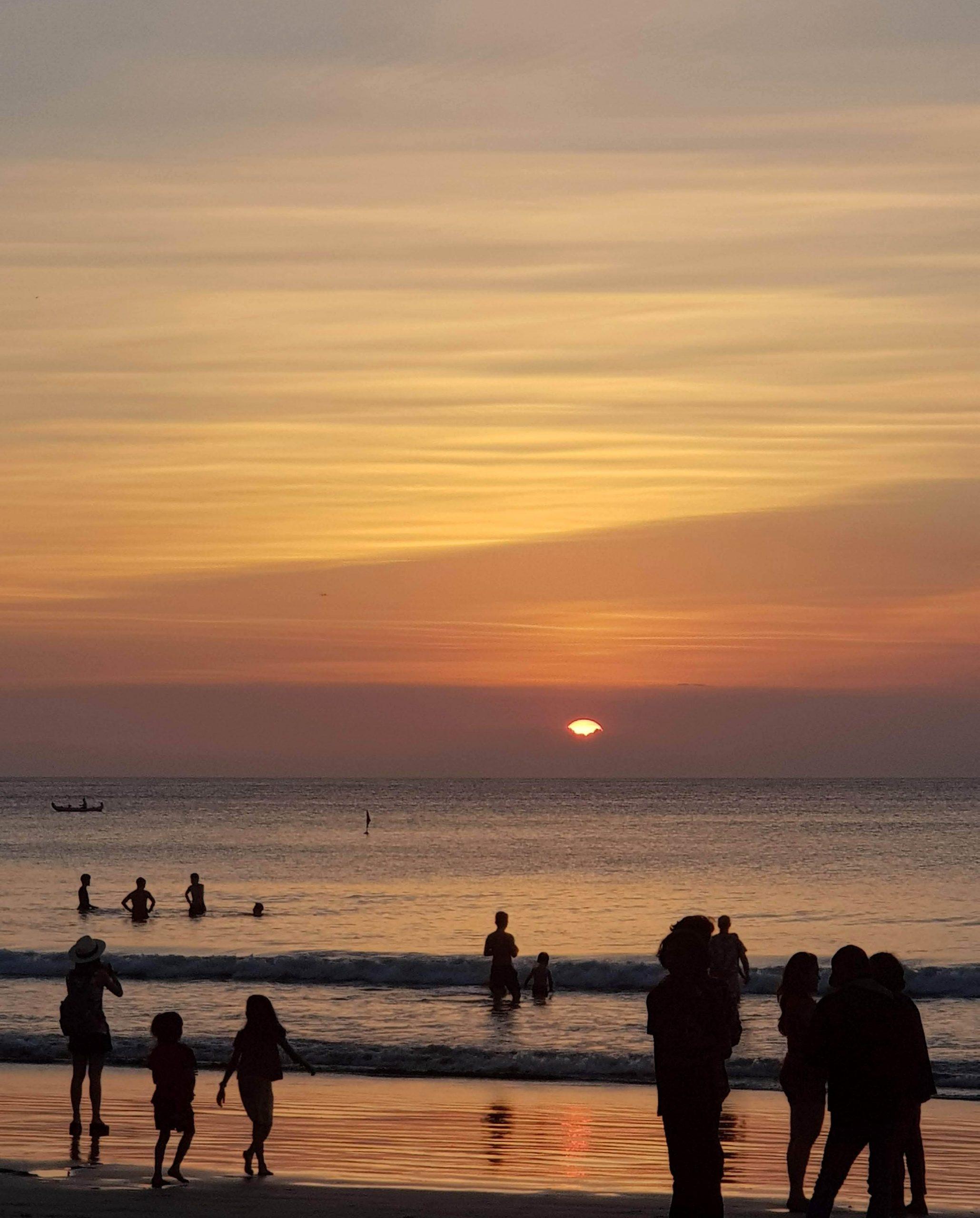 travel light up life business blogger bali sunset beach culture