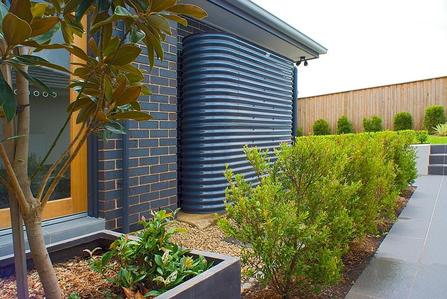 slimline rainwater tank eco save home lifestyle interiors blog