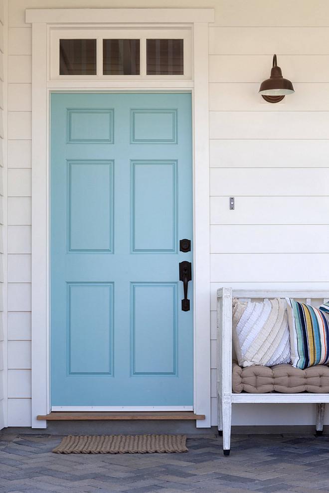 create safe happy secure home garden blue front door interiors blog