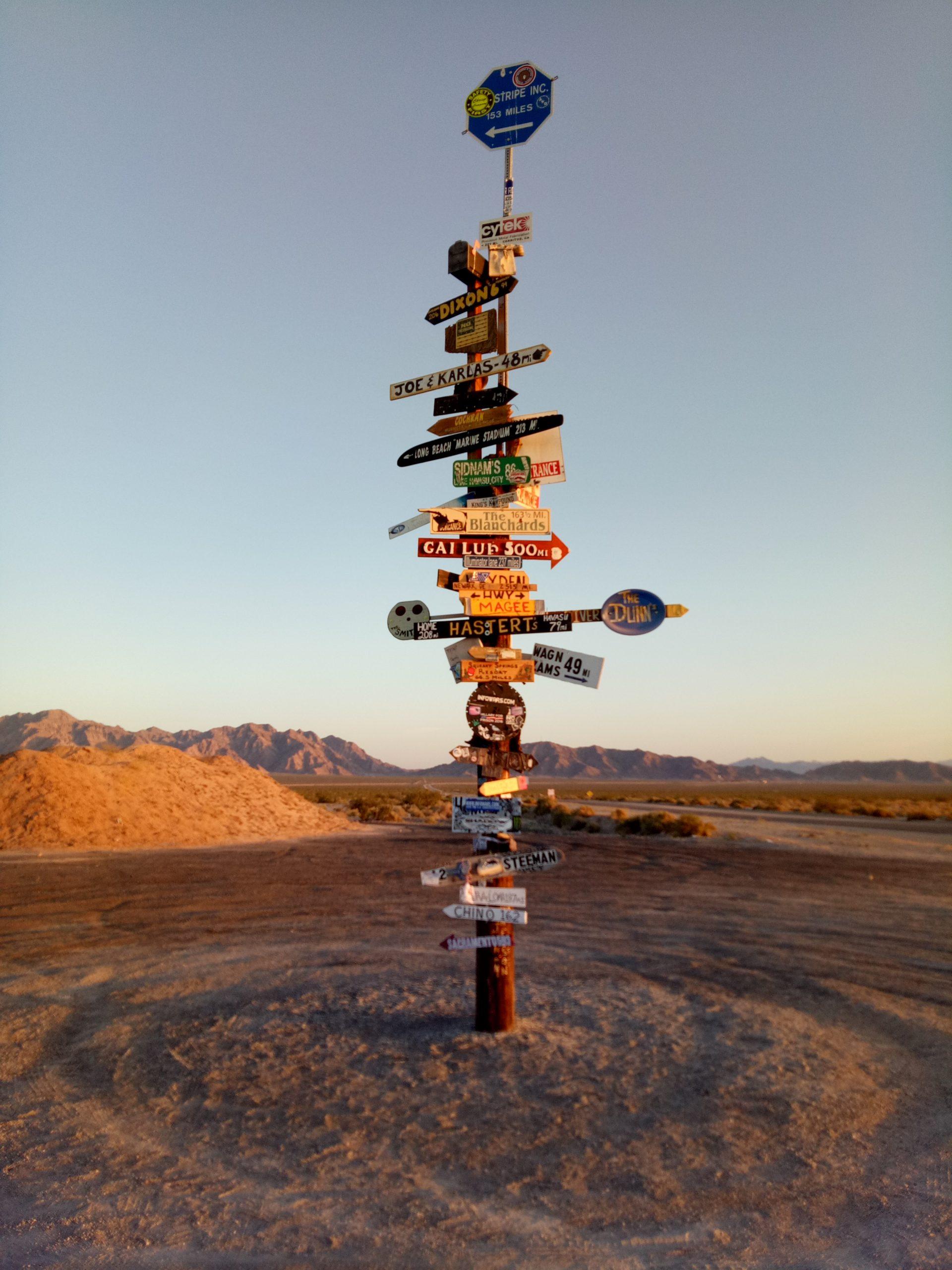 travel excuses never hold you back vlog blog joshua tree desert where to sign