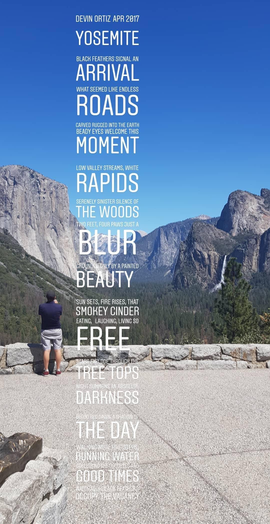 yosemite national park exploring waterfall view usa road trip travel vlogger