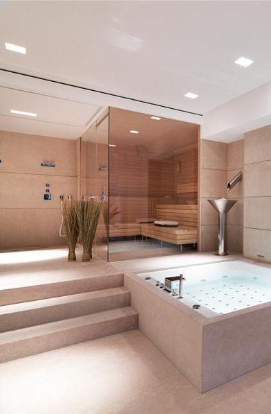 designing dream home gym fitness yoga space interiors blog steam room