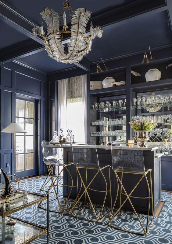 maximalist decor interior design blog colour pattern more bar home