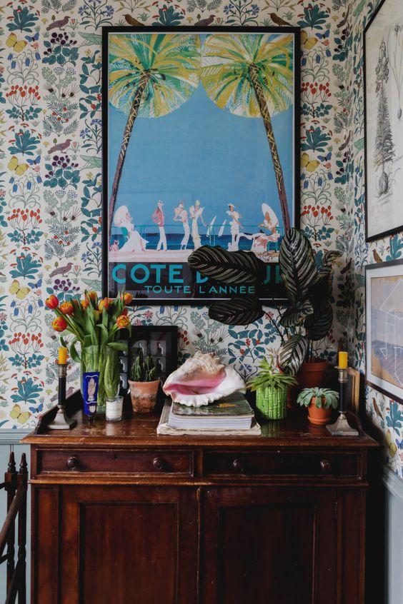 maximalist decor interior design blog colour pattern more vignette
