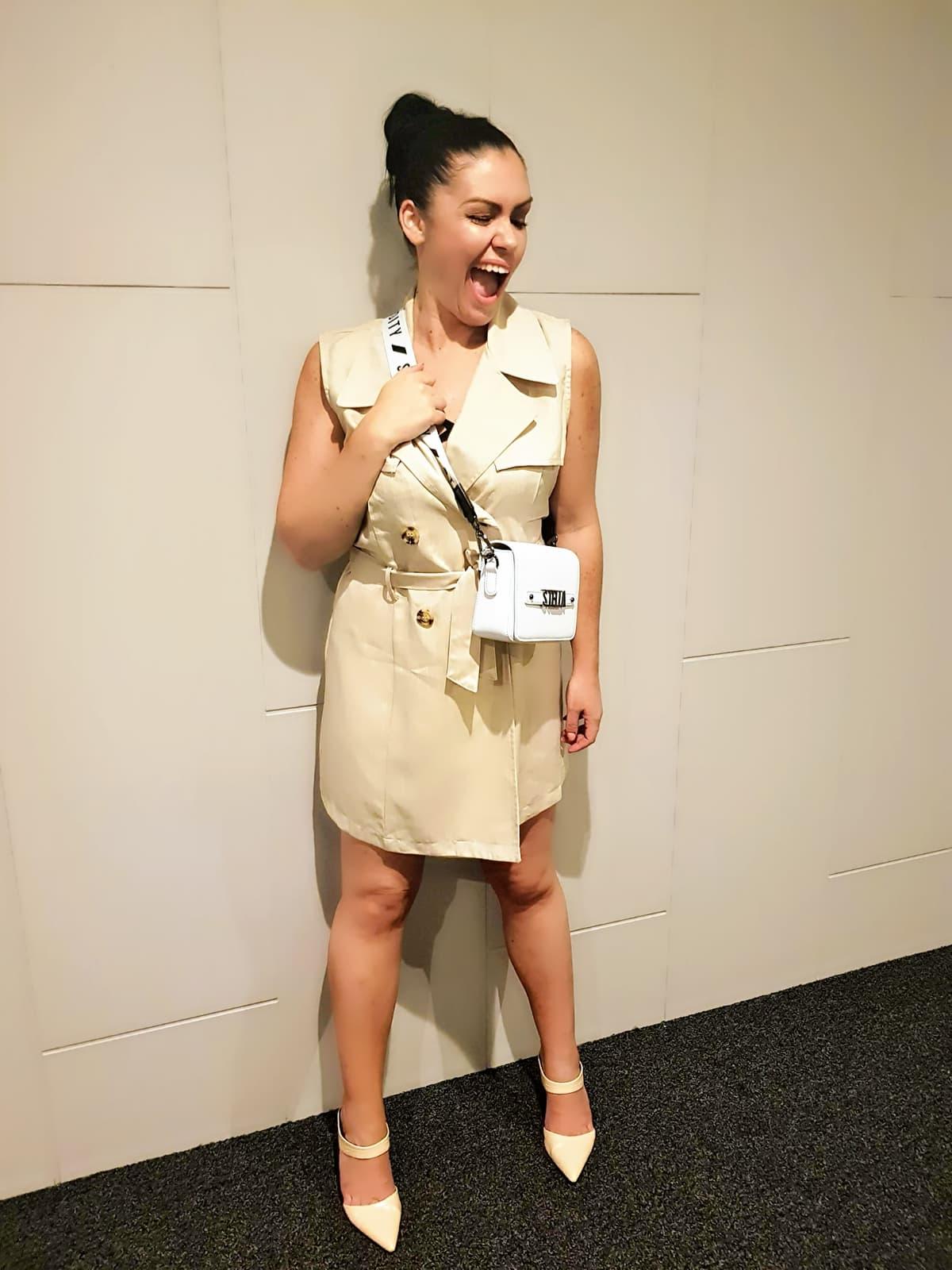 samantha clark waters work wear office fashion vest dress st oddity blog