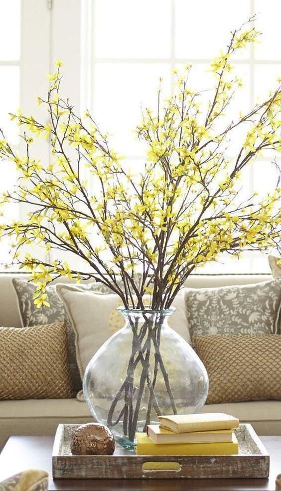 spring home decor style interiors blog seasonal fresh