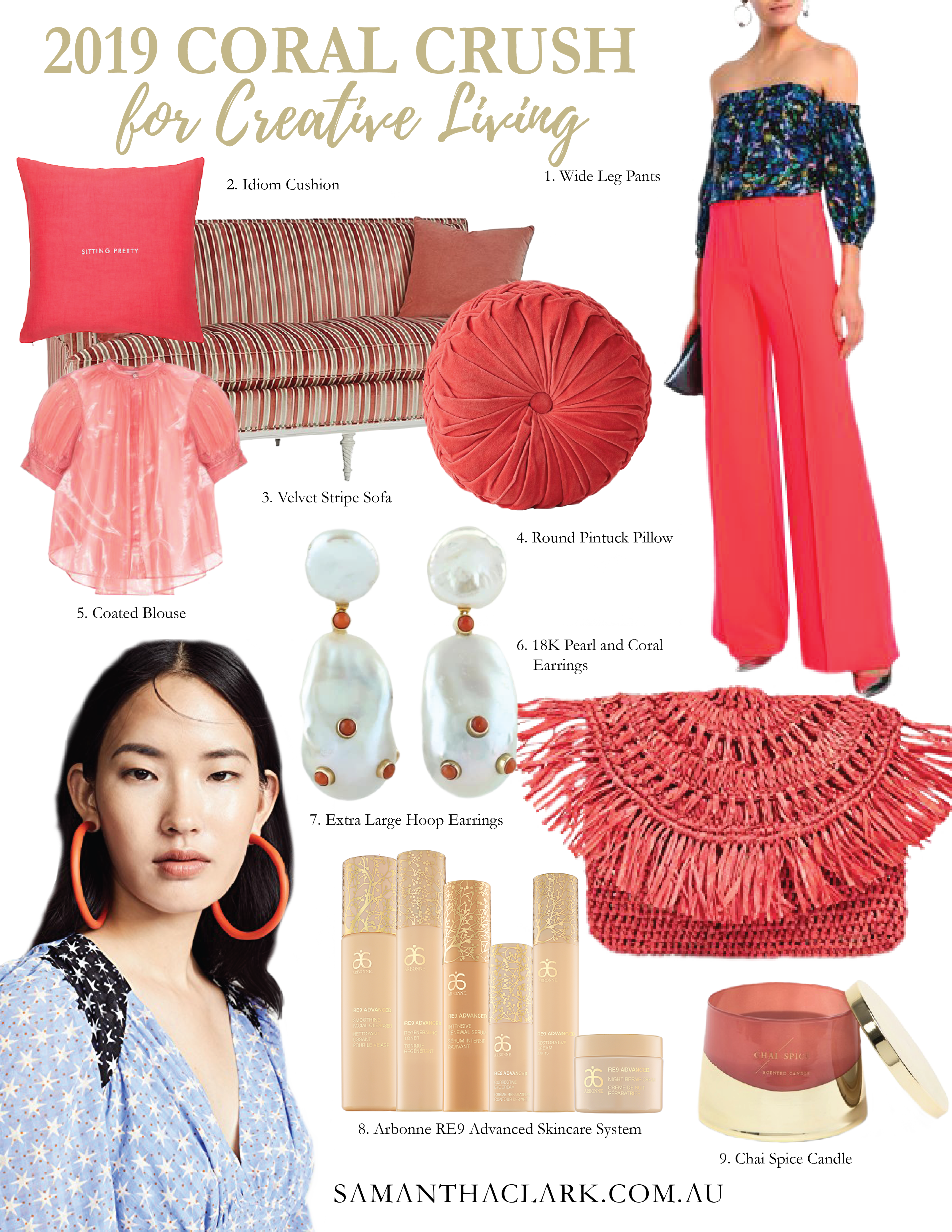 living coral colour color crush style fashion beauty lifestyle blog