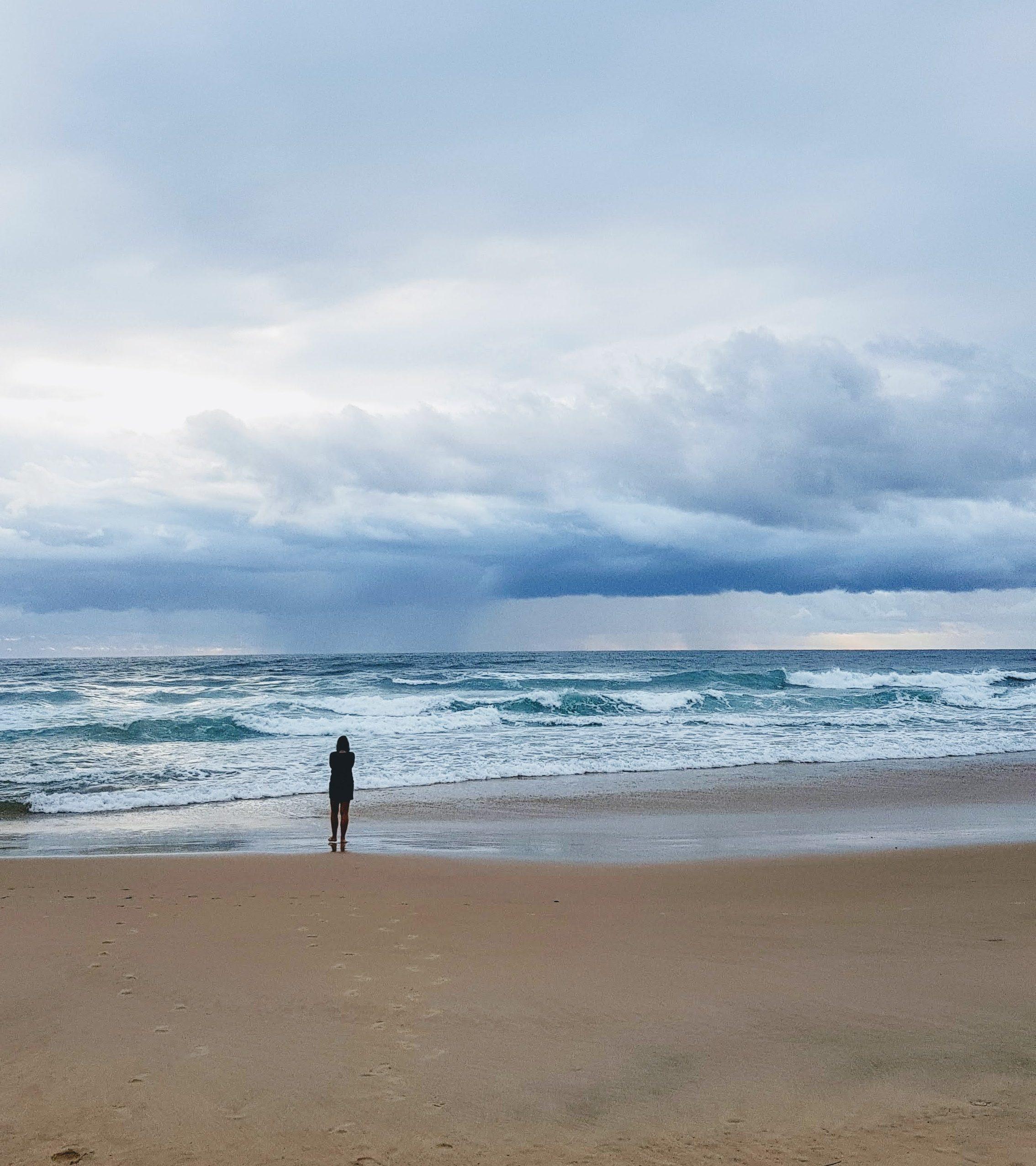 abundant life advice psychic meditation why visualisation beach nature samantha clark