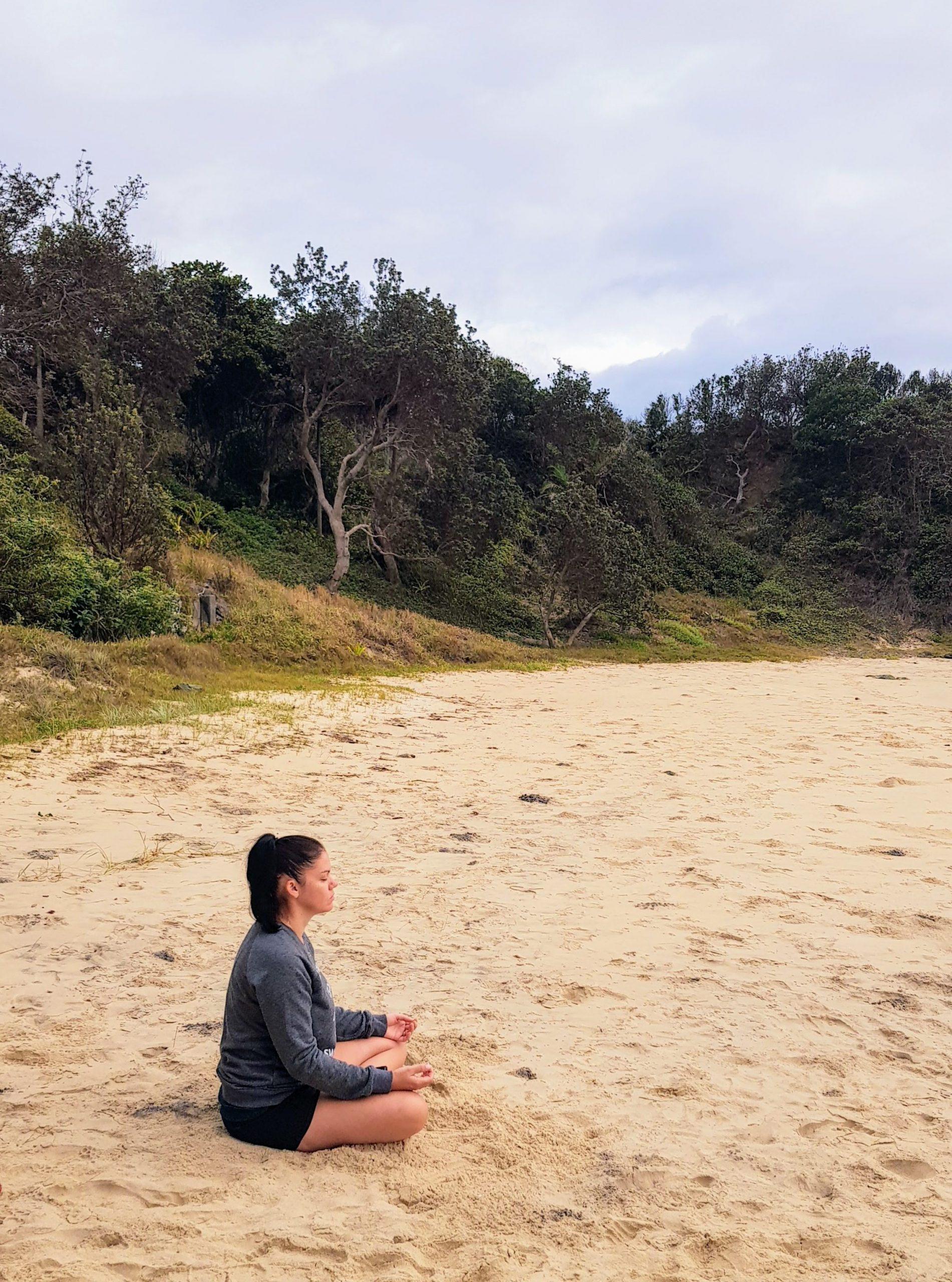 abundant life advice psychic meditation why visualisation beach nature samantha waters