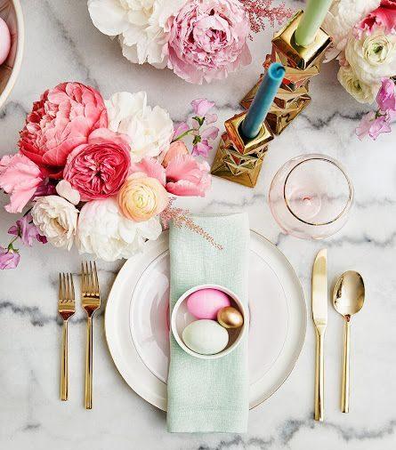 easter decor subtle home interior design blog samantha waters table setting