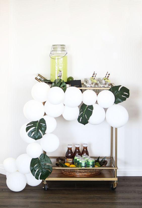seasonal bar cart decorating blog interiors home samantha clark waters summer